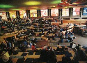 habitat forum - plenary hall interior, Jericho Beach