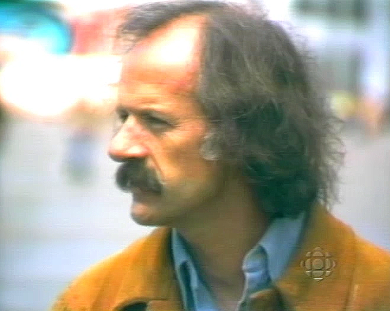 Al Clapp 1976, courtesy CBC